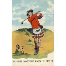 Golf Postcards