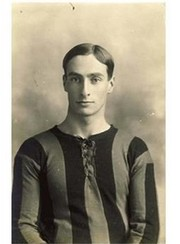 EDWARD GORDON DUNDAS WRIGHT (HULL CITY & ENGLAND) FOOTBALL POSTCARD