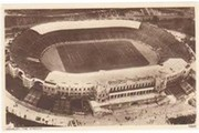 WEMBLEY STADIUM 1924 FOOTBALL POSTCARD