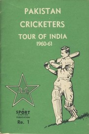 PAKISTAN CRICKETERS TOUR OF INDIA 1960–61 BROCHURE