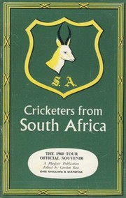 CRICKETERS FROM SOUTH AFRICA: THE 1960 TOUR OFFICIAL SOUVENIR