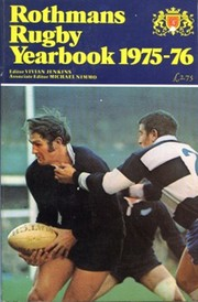 ROTHMANS RUGBY YEARBOOK 1975-76