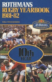 ROTHMANS RUGBY YEARBOOK 1981-82
