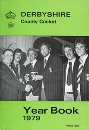 DERBYSHIRE COUNTY CRICKET YEAR BOOK 1979