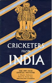 CRICKETERS FROM INDIA: THE OFFICIAL SOUVENIR OF THE 1959 TOUR OF ENGLAND