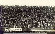PORTSMOUTH V ASTON VILLA 1911 (FA CUP) FOOTBALL POSTCARD