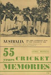 55 YEARS CRICKET MEMORIES