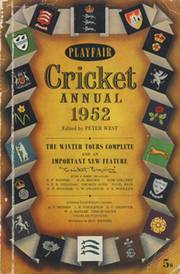 PLAYFAIR CRICKET ANNUAL 1952