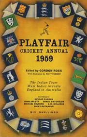 PLAYFAIR CRICKET ANNUAL 1959