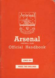 ARSENAL FOOTBALL CLUB HISTORY AND FIXTURES 1967-68 (OFFICIAL HANDBOOK)