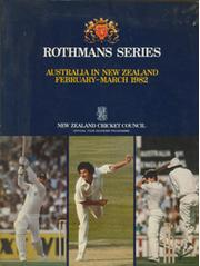 ROTHMANS TEST SERIES: AUSTRALIA IN NEW ZEALAND 1982 TOUR BROCHURE