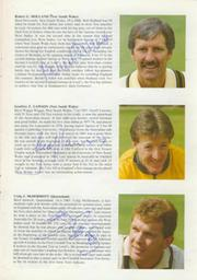 ENGLAND V AUSTRALIA (OLD TRAFFORD) 1985 CRICKET PROGRAMME (SIGNED BY AUSTRALIAN TEAM)