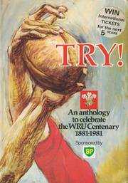 TRY! AN ANTHOLOGY TO CELEBRATE THE W.R.U. CENTENARY, 1881-1981