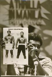 DON KING PROMOTING ALI V FRAZIER FIGHT 1975 PRESS PHOTOGRAPH