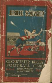 FIFTY YEARS HISTORY OF THE GLOUCESTER RUGBY FOOTBALL CLUB