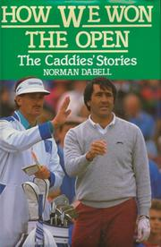 HOW WE WON THE RYDER CUP: THE CADDIES STORY