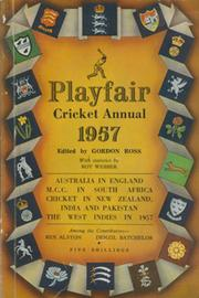PLAYFAIR CRICKET ANNUAL 1957