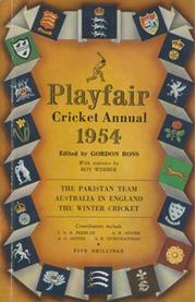 PLAYFAIR CRICKET ANNUAL 1954