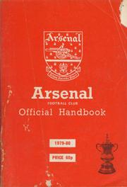 ARSENAL FOOTBALL CLUB  OFFICIAL HANDBOOK 1979-80