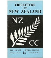 CRICKETERS FROM NEW ZEALAND: THE 1958 TOUR, OFFICIAL SOUVENIR