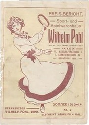 AUSTRIAN SPORTS CATALOGUE 1913-14