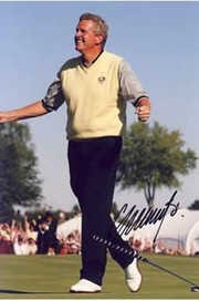 COLIN MONTGOMERIE SIGNED GOLF PHOTOGRAPH
