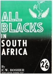 ALL BLACKS IN SOUTH AFRICA 1960
