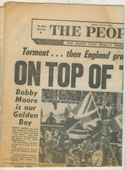 "WORLD CUP 1966 - ""THE PEOPLE"" NEWSPAPER SPECIAL"