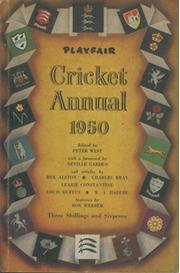 PLAYFAIR CRICKET ANNUAL 1950