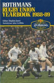 ROTHMANS RUGBY YEARBOOK 1988-89