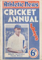 ATHLETIC NEWS CRICKET ANNUAL 1935