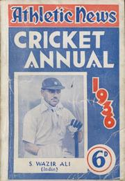 ATHLETIC NEWS CRICKET ANNUAL 1936