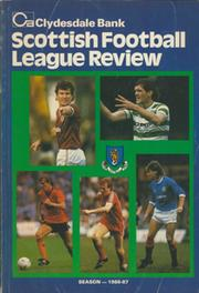 CLYDESDALE BANK SCOTTISH FOOTBALL LEAGUE REVIEW 1986-87