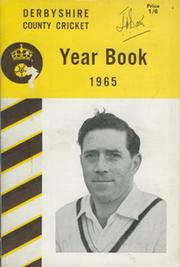 DERBYSHIRE COUNTY CRICKET YEAR BOOK 1965