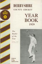 DERBYSHIRE COUNTY CRICKET YEAR BOOK 1959