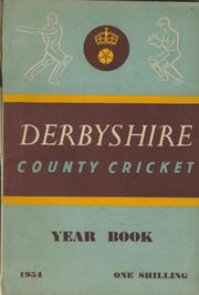 DERBYSHIRE COUNTY CRICKET YEAR BOOK 1954