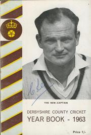 DERBYSHIRE COUNTY CRICKET YEAR BOOK 1963