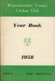 WORCESTERSHIRE COUNTY CRICKET CLUB YEAR BOOK 1958