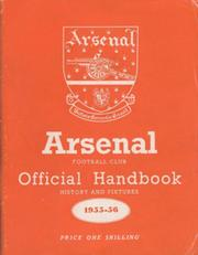 ARSENAL FOOTBALL CLUB 1955-56 OFFICIAL HANDBOOK