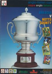 BRESCIA V NOTTS COUNTY 1994 (ANGLO-ITALIAN CUP FINAL) FOOTBALL PROGRAMME