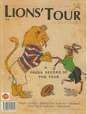 BRITISH LIONS TOUR TO SOUTH AFRICA 1997 OFFICIAL GUIDE