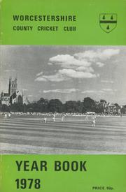 WORCESTERSHIRE COUNTY CRICKET CLUB YEAR BOOK 1978