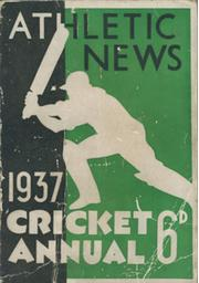 ATHLETIC NEWS CRICKET ANNUAL 1937