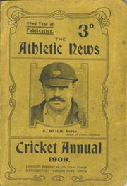 ATHLETIC NEWS CRICKET ANNUAL 1909
