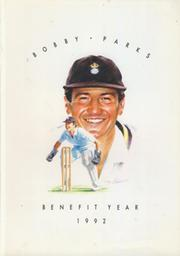 BOBBY PARKS (HAMPSHIRE, KENT) CRICKET BENEFIT BROCHURE