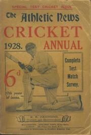ATHLETIC NEWS CRICKET ANNUAL 1928