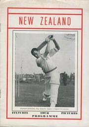 NEW ZEALAND 1969 CRICKET TOUR PROGRAMME
