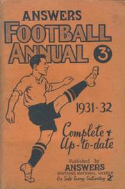 ANSWERS FOOTBALL ANNUAL 1931-32