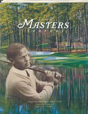 MASTERS 1998 (AUGUSTA) OFFICIAL GOLF PROGRAMME