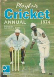 PLAYFAIR CRICKET ANNUAL 1974